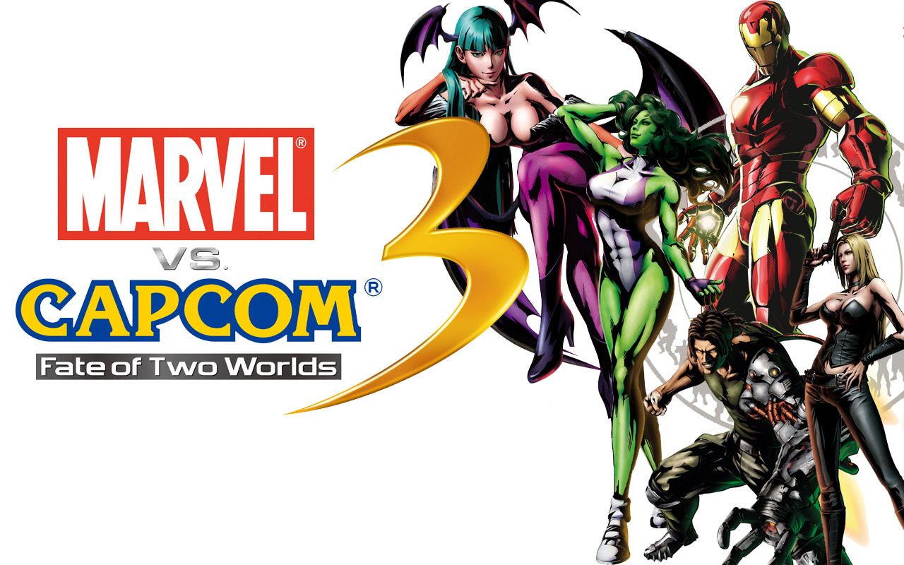 Wallpaper marvel vs capcom 3